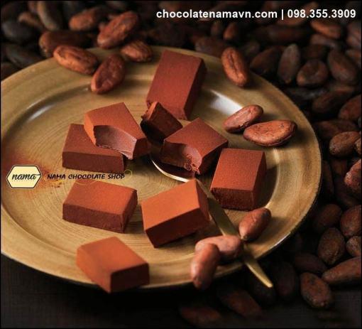 Nama Chocolate Ghana Bitter chính hãng Nhật bản