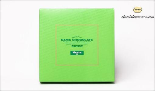 Nama chocolate trà xanh Nhật Bản