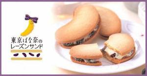 SANDWICH RAISIN COOKIES TOKYO BANANA JAPANESE