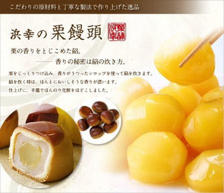 Bánh hạt dẻ chestnut cake Shigendo