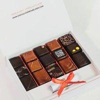 "Coffret-de-15-bonbons-de-chocolat-""Sao-Tomé"""