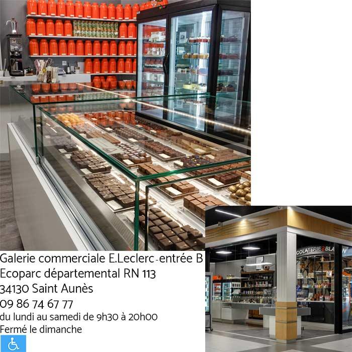 Boutique-St-Aunès - Chocolaterie du Blason