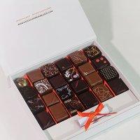 "Coffret-de-24-bonbons-de-chocolat-""Madagascar"""