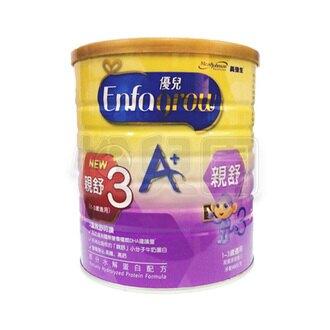 美強生 美強生 優兒A+ 親舒3成長水解蛋白配方奶粉900g優生水解
