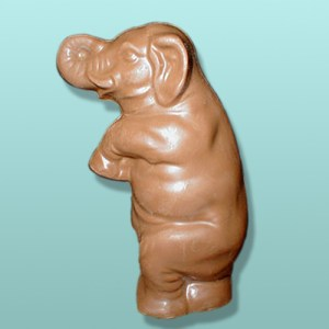 3D Chocolate Dancing Elephant
