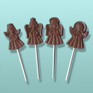 Chocolate Angel Lolly Assortment