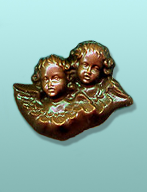 Chocolate Cherub Angels Favor