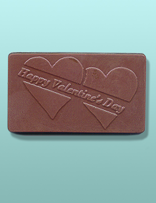 Chocolate Happy Valentine's Day Bar