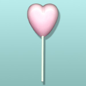 Chocolate Heart Lolly Favor