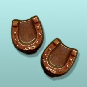 2 pc. Chocolate Horseshoe Mini Favor