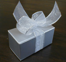 2 Pc. Silver Truffle Box