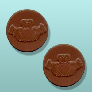 Chocolate Irish Claddagh Mini Favor