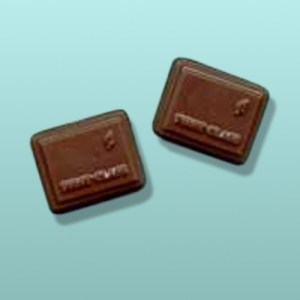 2 pc. Chocolate Stamp Mini Favor