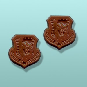 2 pc. Chocolate Air Force Emblem