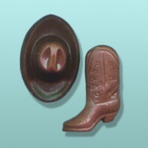 2 pc. Mini Cowboy Hat and Boot Favor