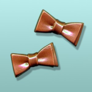 2 pc. Chocolate Bow Tie Favor