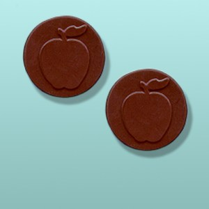 2 pc. Chocolate Apples Round Party Favor