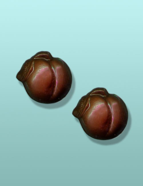 2 pc. Chocolate Peaches Mini Favor