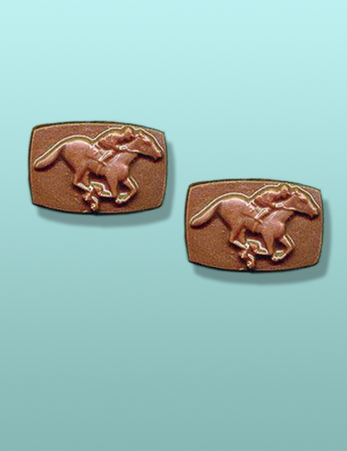 2 pc. Chocolate Horse Racing Favor