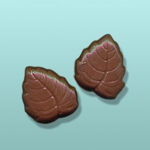 2 pc. Chocolate Rose Leaf Party Favor