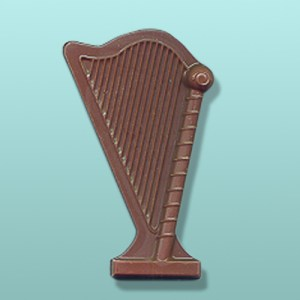 Chocolate Musical Harp Favor