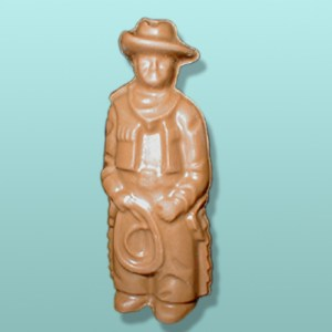 3D Chocolate Cowboy with Lasso