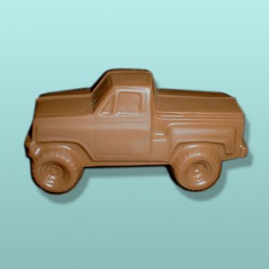 3D Chocolate Pickup Truck