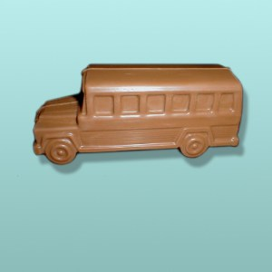 3D Chocolate School Bus