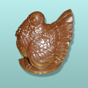 3D Chocolate Turkey Stand-Up Centerpiece