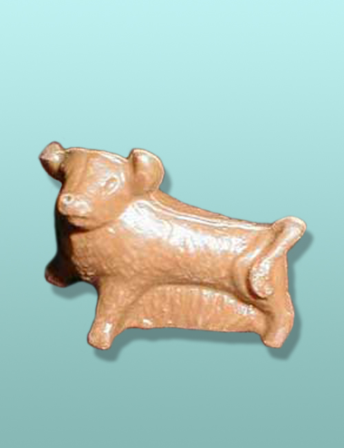 3D Small Chocolate Bull