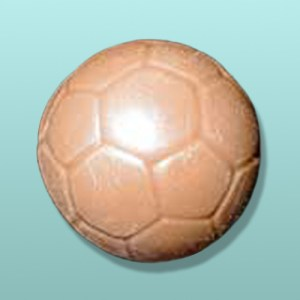 3D Solid Chocolate Soccer Ball