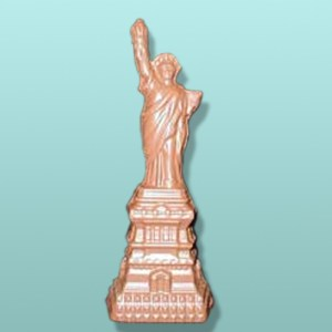 3D Chocolate Statue of Liberty