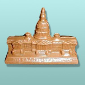 3D Small Chocolate Capitol Building