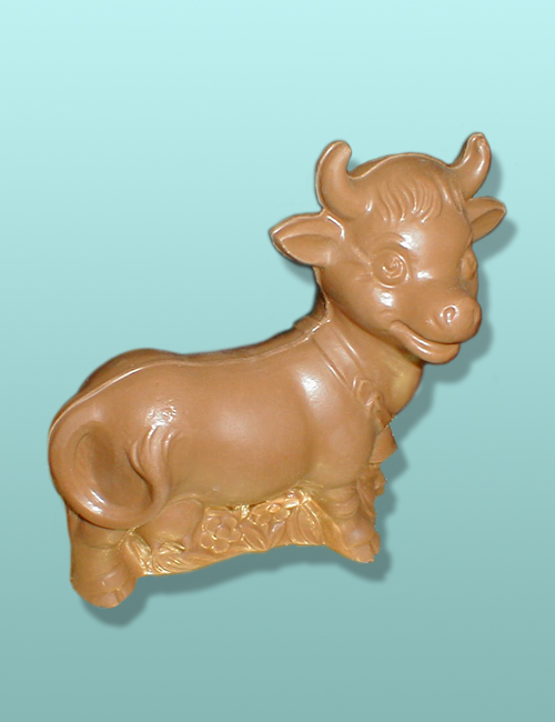 3D Chocolate Bossy Cow