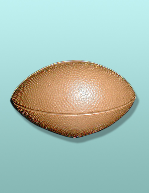 3D Solid Chocolate Football