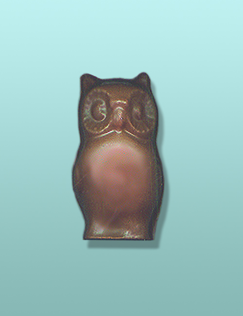 3D Chocolate Owl Mini Favor