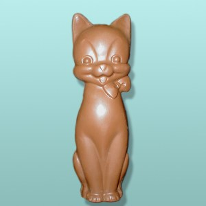 3D Chocolate Sitting Pretty Kitty X-Large