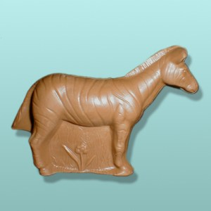 3D Solid Chocolate Zebra