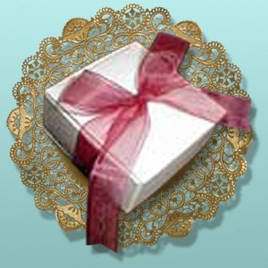 4 pc. Chocolate Truffles White Box