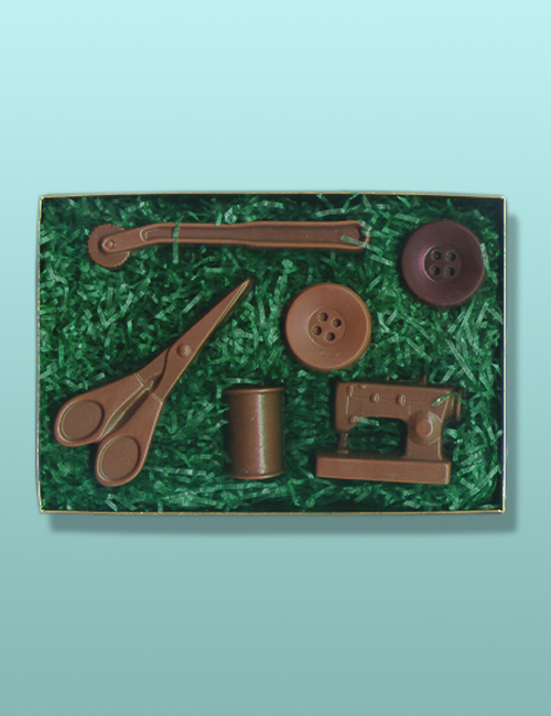 Chocolate Sewing Kit Large Gift Set