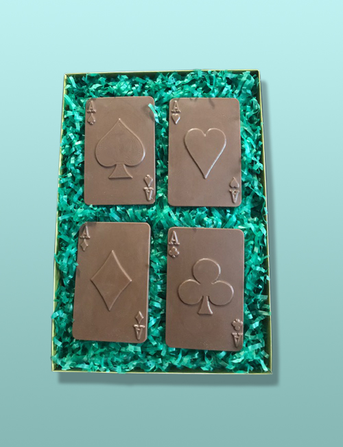 Chocolate Playing Cards Gift Set