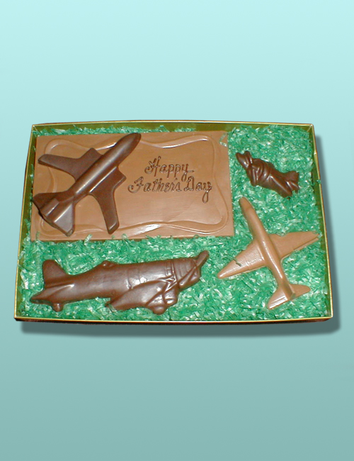 Customized Chocolate Aircraft Gift Set