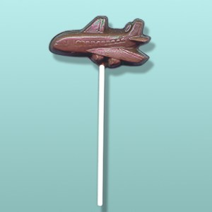 Chocolate Airline Plane III Lolly