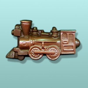 Chocolate Antique Large Train Engine