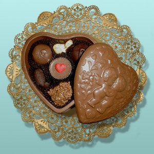 Cupid Heart Chocolate Box Assortment