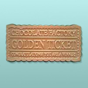 Chocolate Winning Golden Ticket