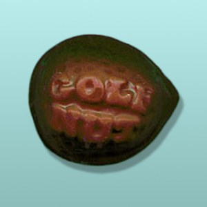 Chocolate Golf Nut Party Favor