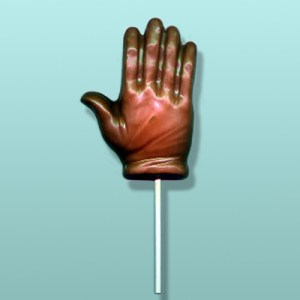 Chocolate Medical Exam Glove