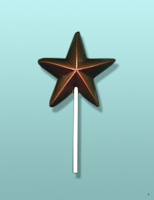 Chocolate Holiday Star Party Favor