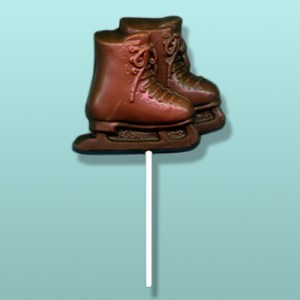 Chocolate Ice Skates Party Favor